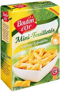 Bouton Dor Mini Onion Ciboulette Sticks 75g