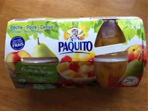 Paquito Mixed Fruit Orchard 4x113g
