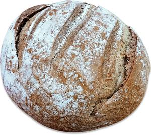 Loaf Bread Rye 1pc