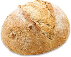 Round Bread Walnut 1pc