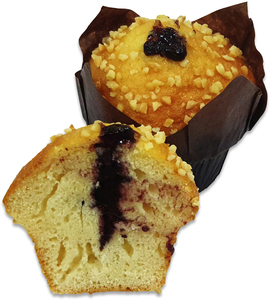 Muffin Blueberry 2pcs