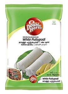 Double Horse White Puttu Powder 1kg