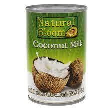 Natural Bloom Coconut Milk 400ml