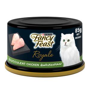 Fancy Feast Royale Tuna Banquet With Prawns Cat Food 85g
