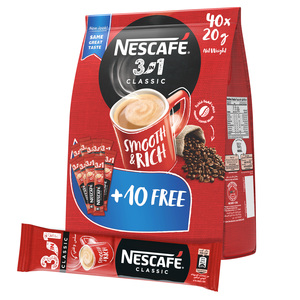 Nescafe Coffee 3 In1 Stick Pouch 40x20g