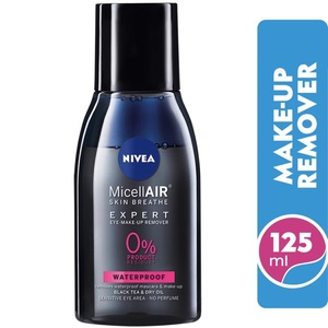 Nivea Micellar Expert Waterproof Eye Makeup Remover 125ml