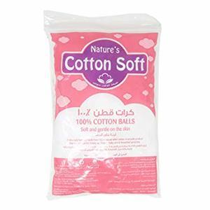 Natures Cotton Soft Cotton Balls 100s