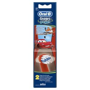 Oral B Stages Power Replacement Brush Head For Kids 2s