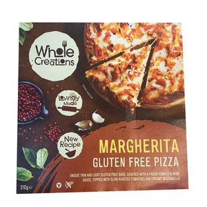 Whole Creations Margherita Gluten Free Pizza 310g