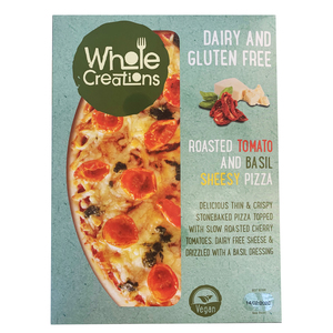 Whole Creations Roasted Tomato And Basil Sheesy Pizza 275g