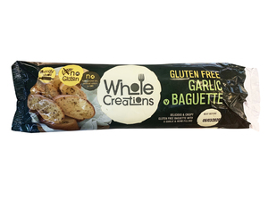 Whole Creations Gluten Free Garlic Baguette 170g