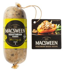 Macsween Vegetarian Haggis Delicious Every Day 227g