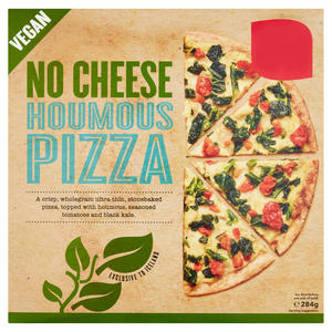 No Cheese Vegan Houmous Pizza 284g