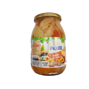 Paquito Macedonia Fruit 600g