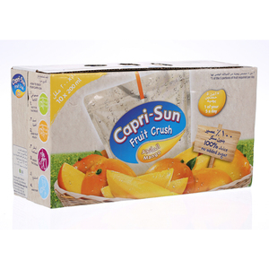 Capri-Sun Mango Fruit Crush 10x200ml