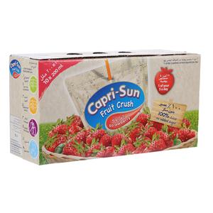 Capri Sun Strawberry Fruit Crush 10x200ml