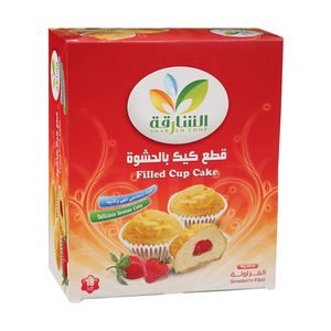 Sharjah Cup Cake Strawberry 18x35g