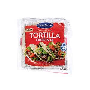 Santa Maria Mini Original Soft Tortilla 200g