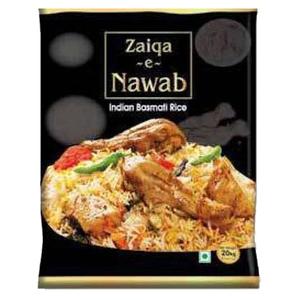 Zaiqa E Nawab Indian Basmati Rice 20kg