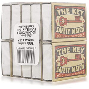 Solo Safety Matches 10s