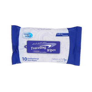 Cool&Cool Travelling Wipes 10s