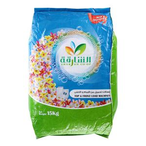 Sharjhah Detergent Powder 2 in 1 15kg