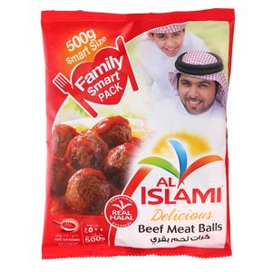 Al Islami Beef Meat Balls Family 500g