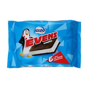 Igloo Evens Vanilla Multipack 6x90ml