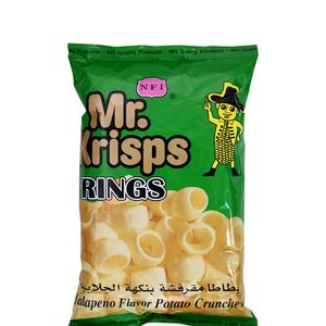Mr. Krisps Chips Ring Jalapeno 80g