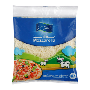 Al Rawabi Shredded Mozzarella Cheese 500g