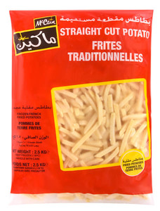 Mc Cain French Fries Straight Cut 2.5kg