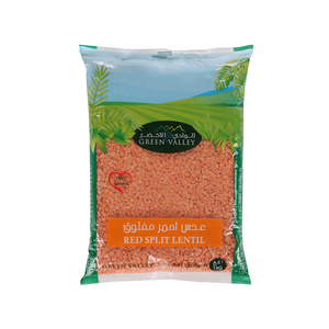 Green Valley Red Split Lentil 1kg