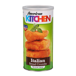 American Kitchen Bread Crumbs Italian 15oz