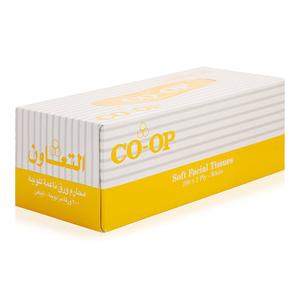 Co-op Facial Tissue 6x200s