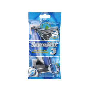 Supermax 3 Triple Disposable Pack 5s