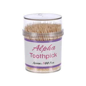 Alpha Tooth Pick With Dispenser 500s