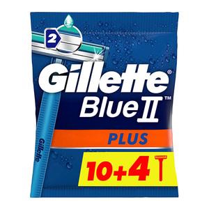 Gillette Blue 2 Plus Disposable Razor 10+4