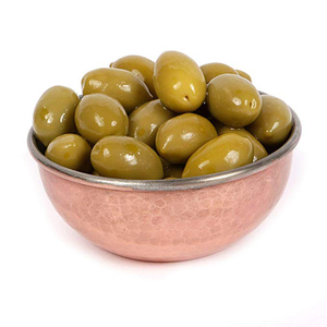 Syrian Grn Olives Extra In Oil 100g