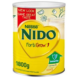 Nestle Nido Fortified Milk Powder Tin 1800g