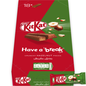KitKat 2 Finger Hazelnut Chocolate Wafer 18x19.5g