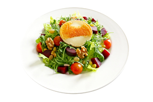 Olio's Grilled Goat Cheese Salad 1s