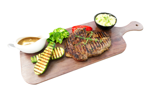 Olio's Grilled Rib Eye Steak 1s