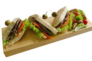 Olio's Grilled Steak Sandwich 1pc