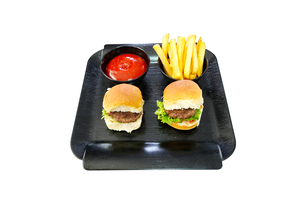 Olio's Mini Burgers & Fries 2s