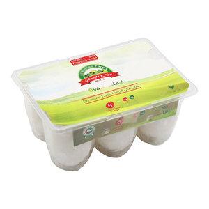 Bustan White Egg Medium Box 6s
