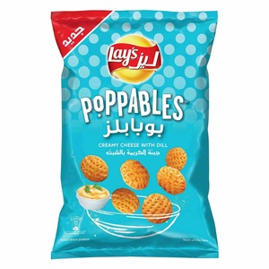 Lays Poppables Creamy Cheese And Dill Chips 85g