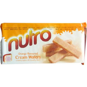 Nutro Wafer Orange 75g