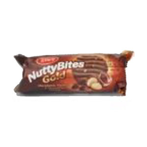Tiffany Nutty Bites Gold Biscuits 117g