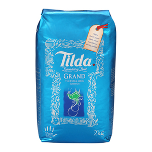 Tilda Grand Basmati Rice 2kg
