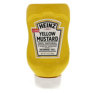 Heinz Yellow Mustard Squeeze 8oz